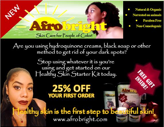 Afrobright Skincare Flier
